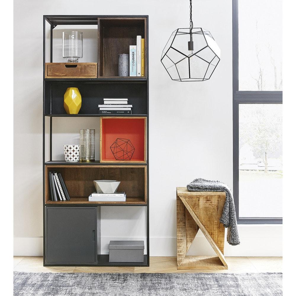 bout de canap en manguier mael maisons du monde. Black Bedroom Furniture Sets. Home Design Ideas