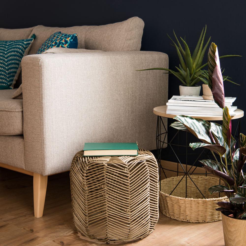 bout de canap en m tal filaire santana maisons du monde. Black Bedroom Furniture Sets. Home Design Ideas