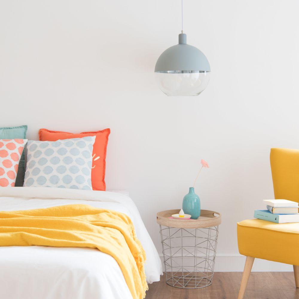 bout de canap en m tal vert randy maisons du monde. Black Bedroom Furniture Sets. Home Design Ideas