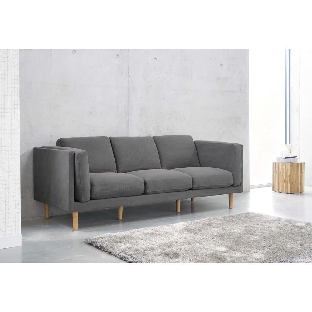 bout de canap en teck opale maisons du monde. Black Bedroom Furniture Sets. Home Design Ideas