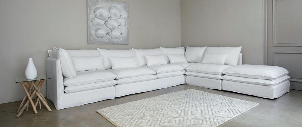 bout de canap en verre et branches de teck alga maisons du monde. Black Bedroom Furniture Sets. Home Design Ideas