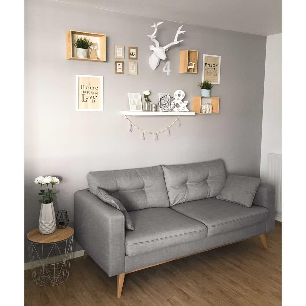 bout de canap filaire vert mint maisons du monde. Black Bedroom Furniture Sets. Home Design Ideas
