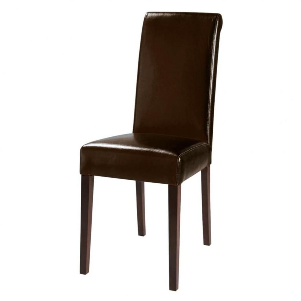 Brauner Und Kastanienbrauner Stuhl Boston Maisons Du Monde
