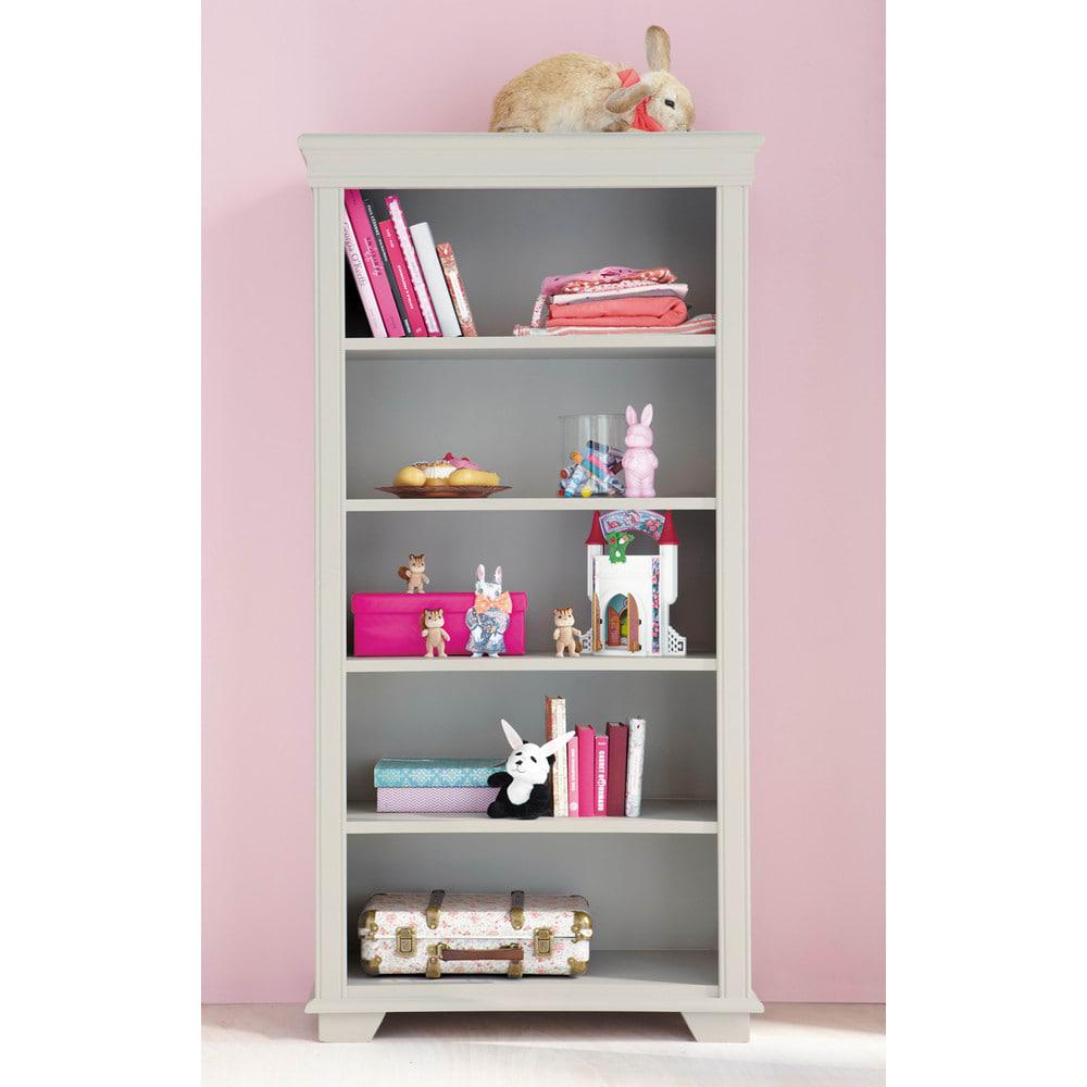 b cherregal f r kinder taupe pastel maisons du monde. Black Bedroom Furniture Sets. Home Design Ideas