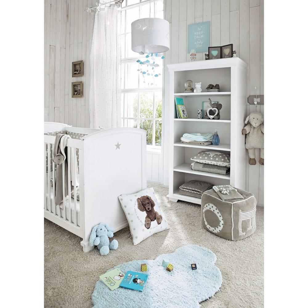 b cherregal f r kinder wei pastel maisons du monde. Black Bedroom Furniture Sets. Home Design Ideas