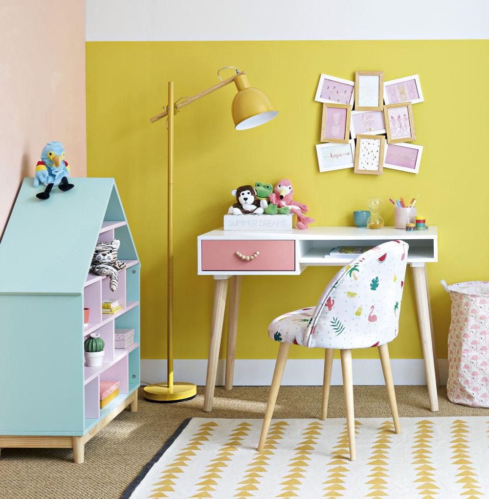 b cherregal haus f r kinder gr n und rosa berlingot. Black Bedroom Furniture Sets. Home Design Ideas