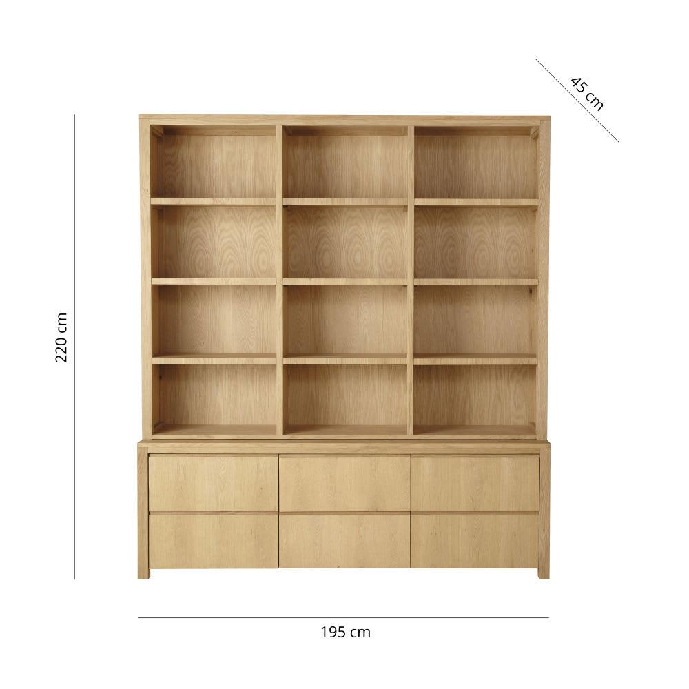 Bücherregal Mit Schubladen : b cherregal mit 2 schubladen und 2 t ren danube maisons ~ Watch28wear.com Haus und Dekorationen