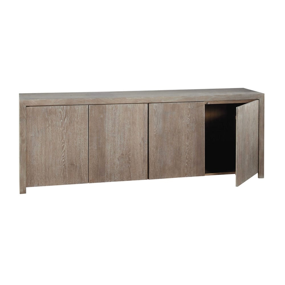 buffet en ch ne massif l 210 cm baltic maisons du monde. Black Bedroom Furniture Sets. Home Design Ideas