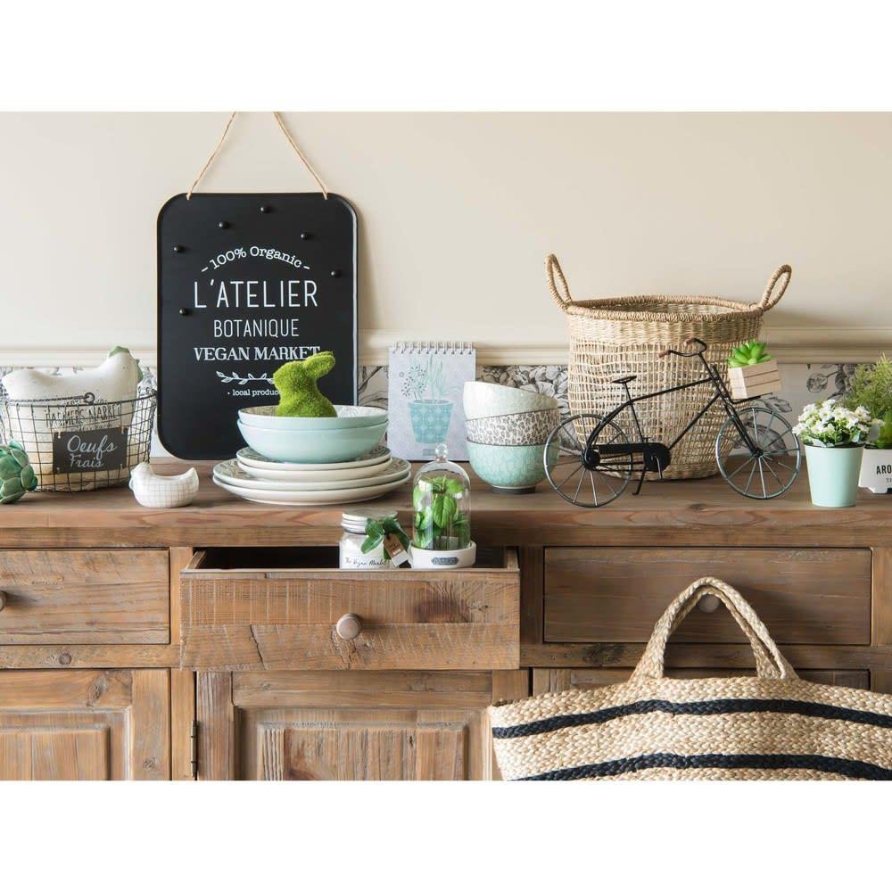 buffet en sapin recycl pauillac maisons du monde. Black Bedroom Furniture Sets. Home Design Ideas