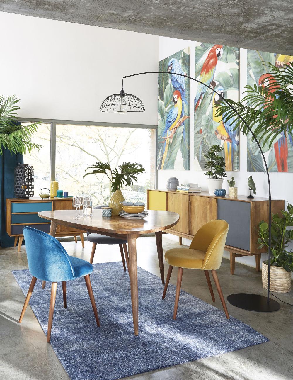buffet enfilade vintage en manguier janeiro maisons du monde. Black Bedroom Furniture Sets. Home Design Ideas