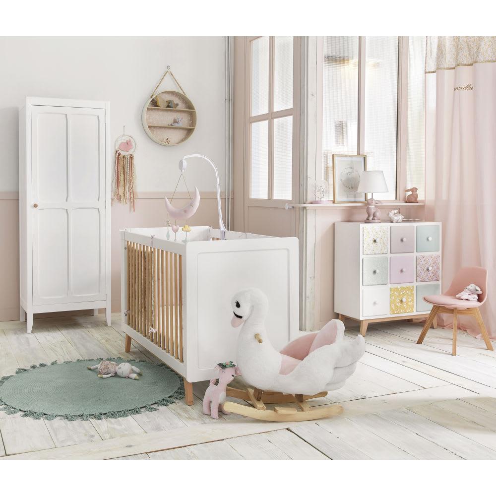 Cabinet de rangement enfant 9 tiroirs apolline maisons for Maison du monde camerette per bambini