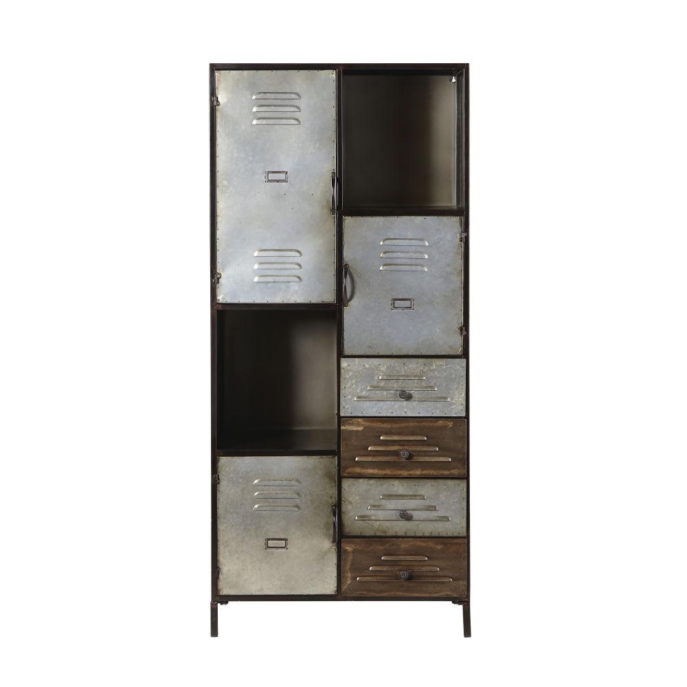 Cabinet De Rangement Indus 4 Tiroirs 3 Portes En M 233 Tal