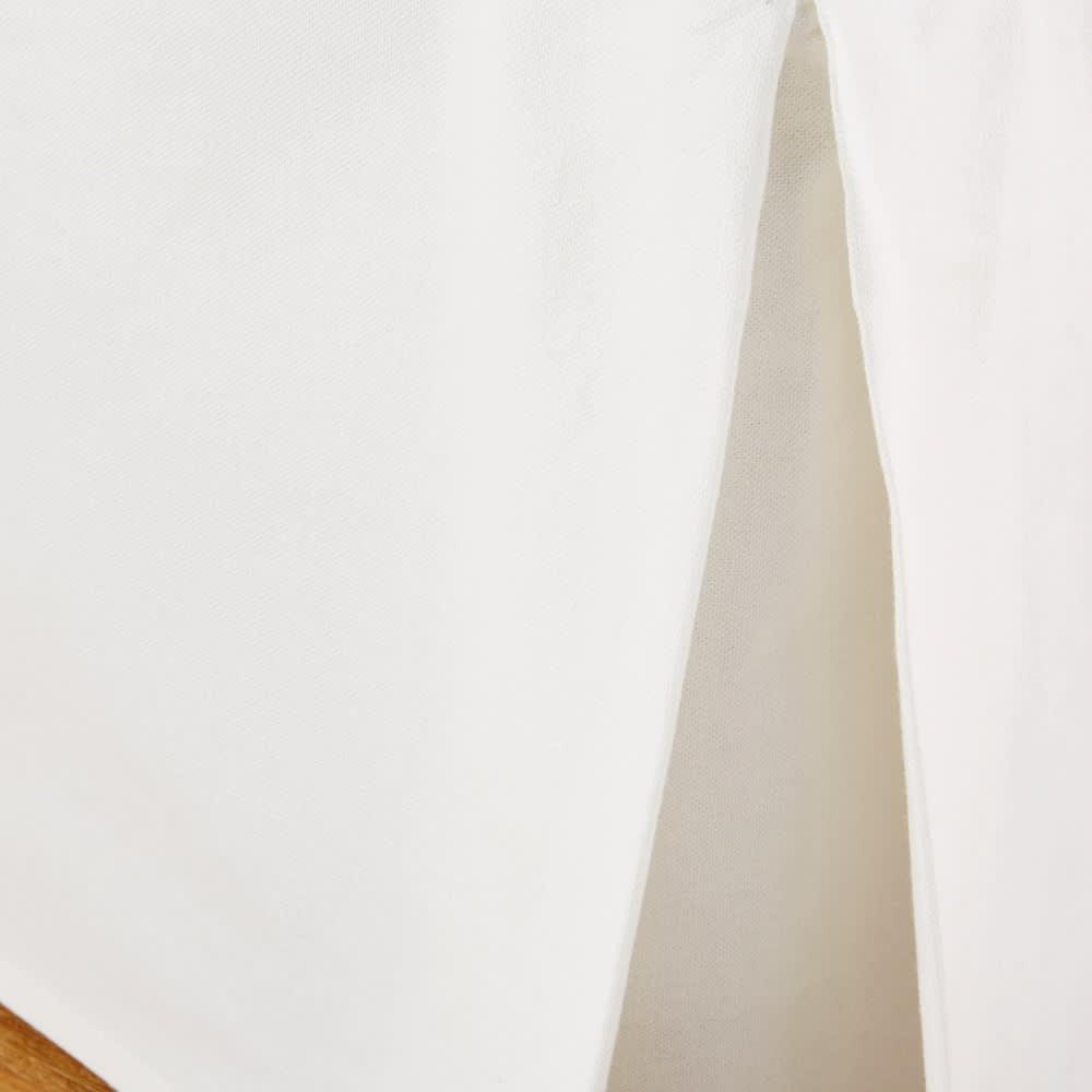 cache sommier 140x190 en coton ivoire morphee maisons du monde. Black Bedroom Furniture Sets. Home Design Ideas