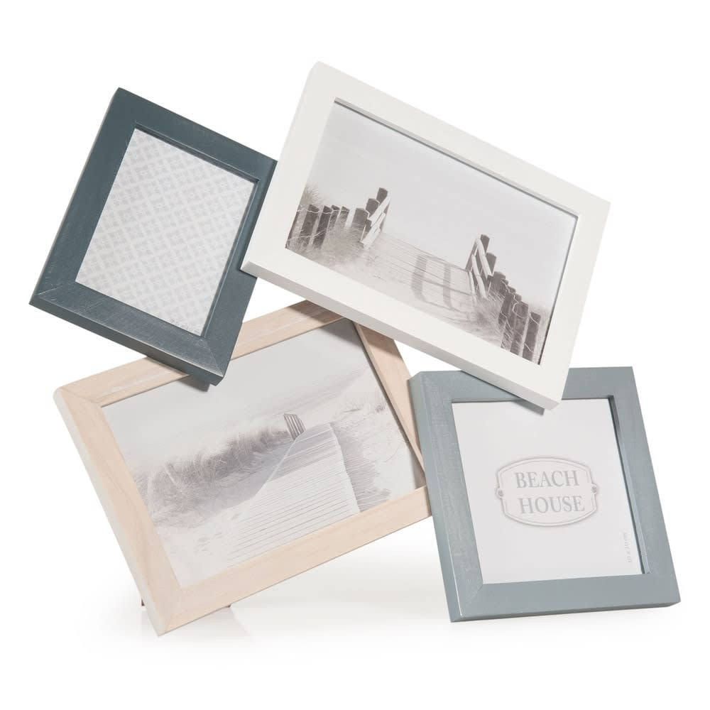Cadre photo 4 vues 29 x 31 cm Cyclades | Maisons du Monde