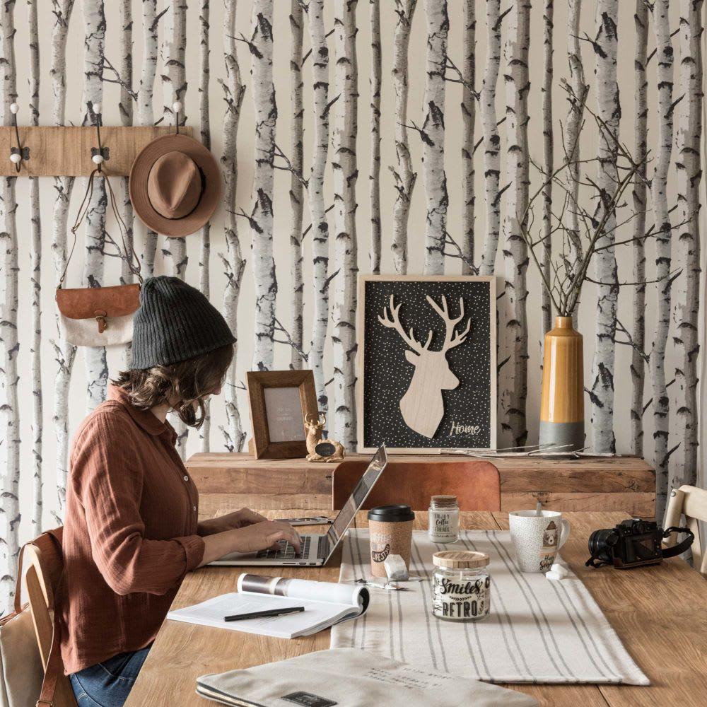 cadre photo en manguier 13x18 haroun maisons du monde. Black Bedroom Furniture Sets. Home Design Ideas