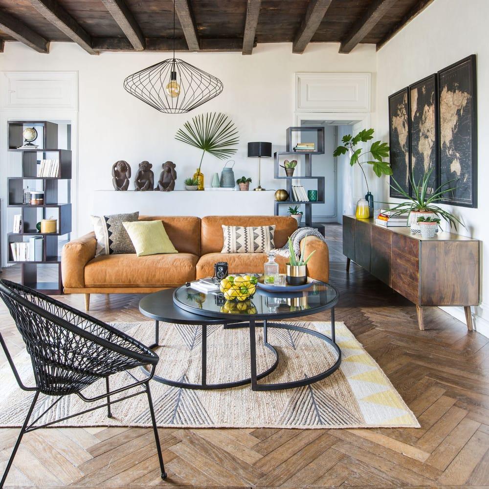 cadre triptyque carte du monde noir 180x120 explore. Black Bedroom Furniture Sets. Home Design Ideas