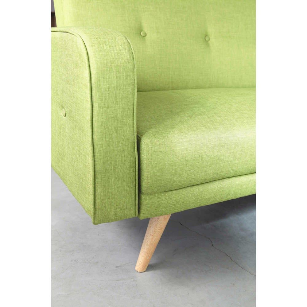 canap clic clac 3 places vert anis broadway maisons du monde. Black Bedroom Furniture Sets. Home Design Ideas