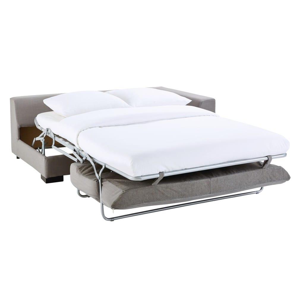 canap convertible modulable accoudoir droit gris clair. Black Bedroom Furniture Sets. Home Design Ideas