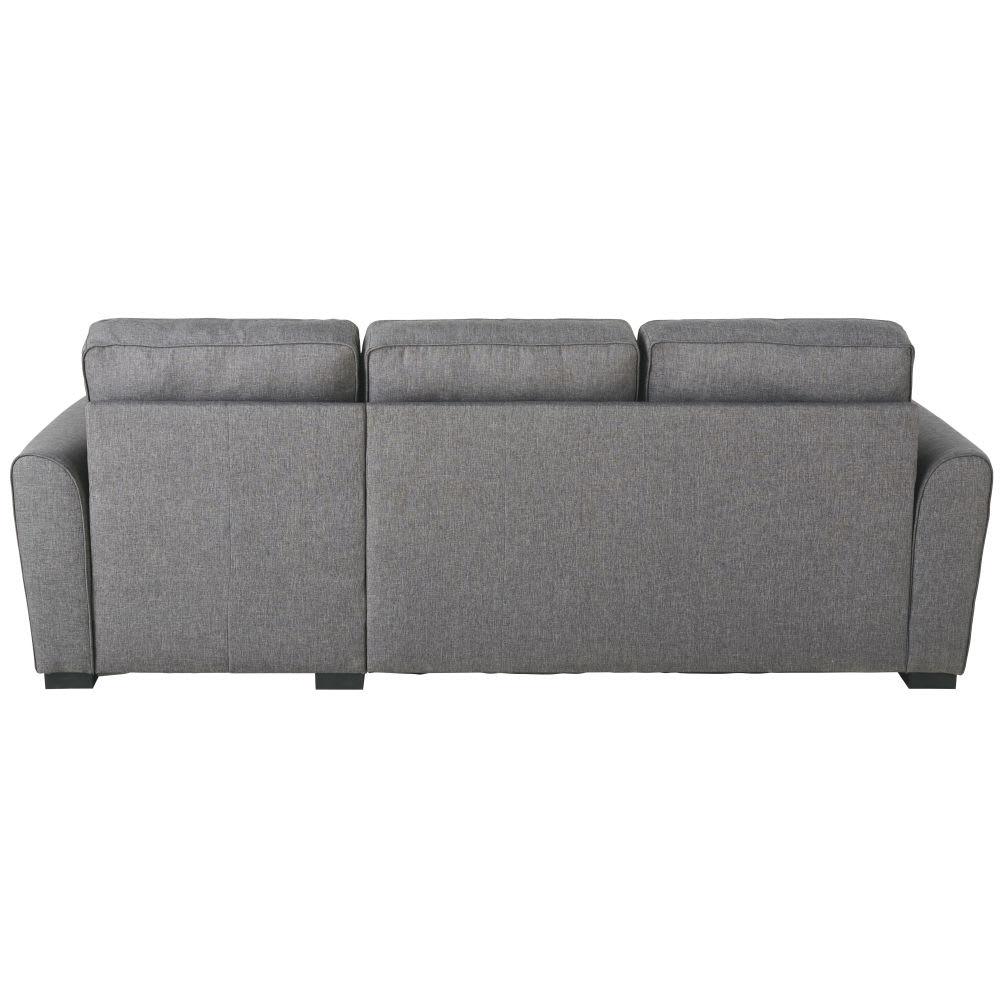 canap d 39 angle convertible 3 4 places gris montr al maisons du monde. Black Bedroom Furniture Sets. Home Design Ideas