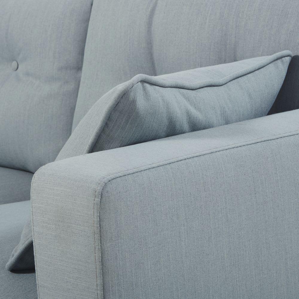 canap d 39 angle style scandinave 4 5 places bleu glacier. Black Bedroom Furniture Sets. Home Design Ideas