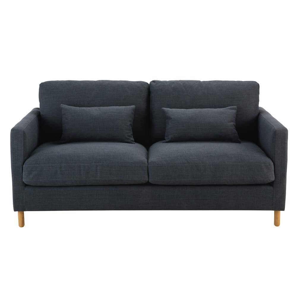 canap lit 3 places gris anthracite julian maisons du monde. Black Bedroom Furniture Sets. Home Design Ideas