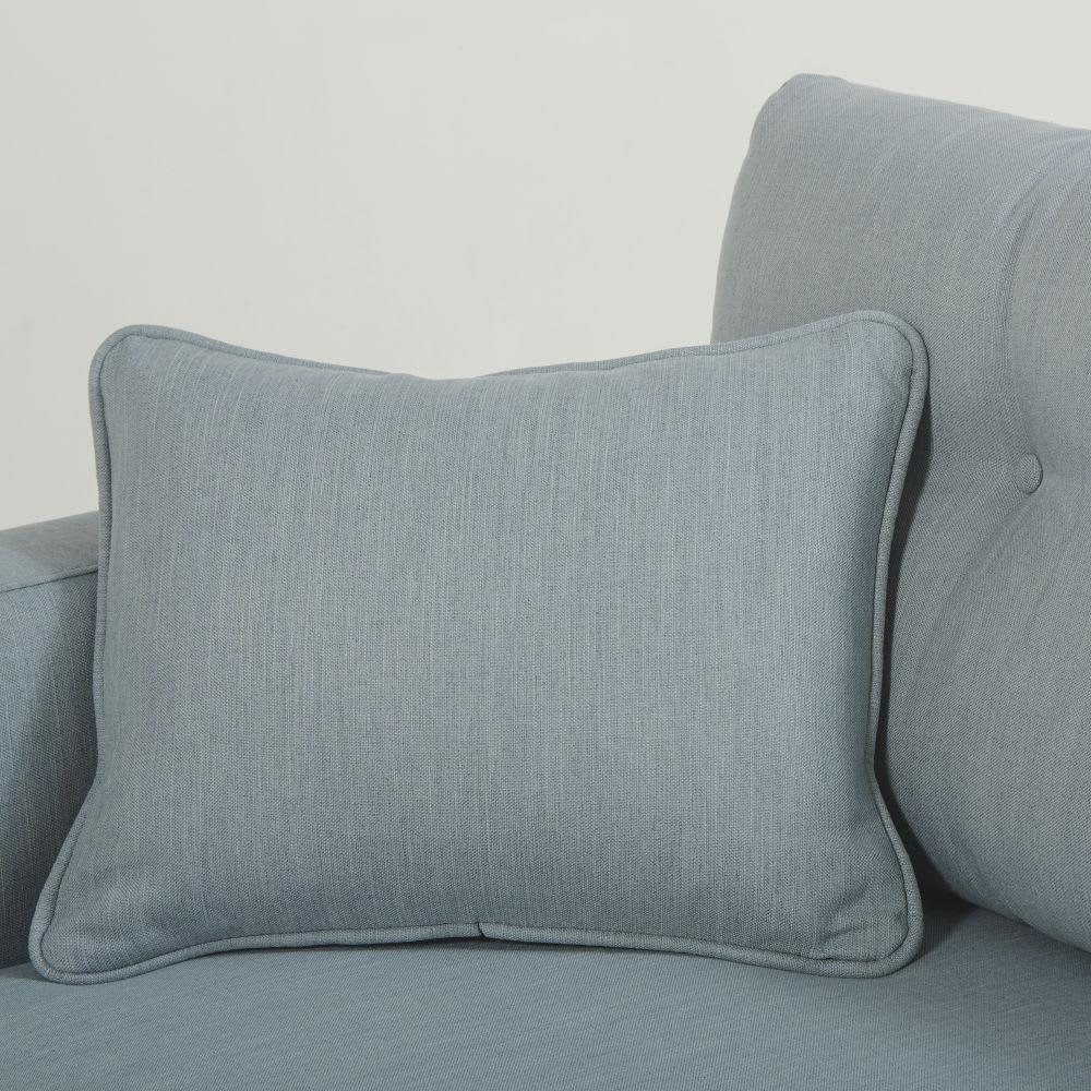 canap lit style scandinave 3 places bleu glacier brooke. Black Bedroom Furniture Sets. Home Design Ideas