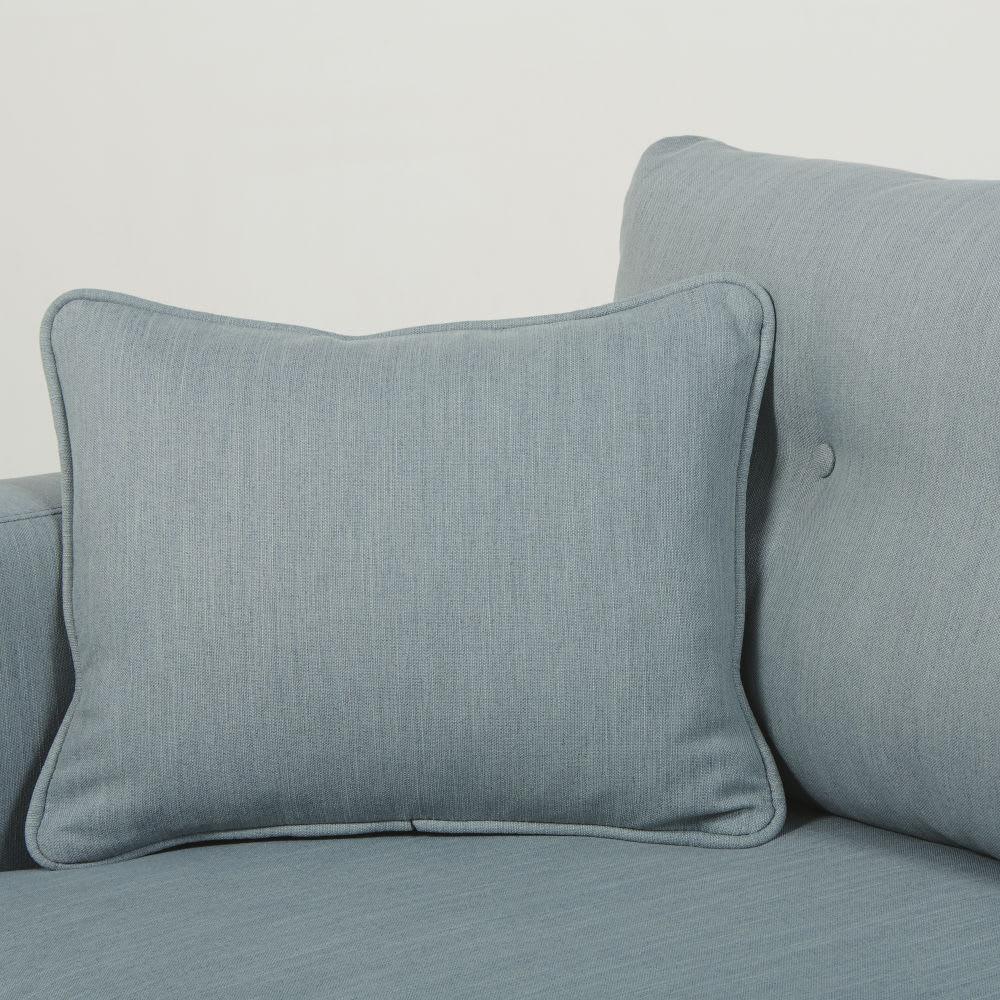 canap style scandinave 3 places bleu glacier brooke. Black Bedroom Furniture Sets. Home Design Ideas