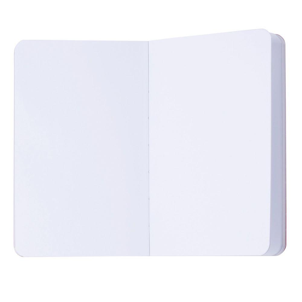 Carnet De Notes Imprimé Rouge à Lèvres En Papier Glossy