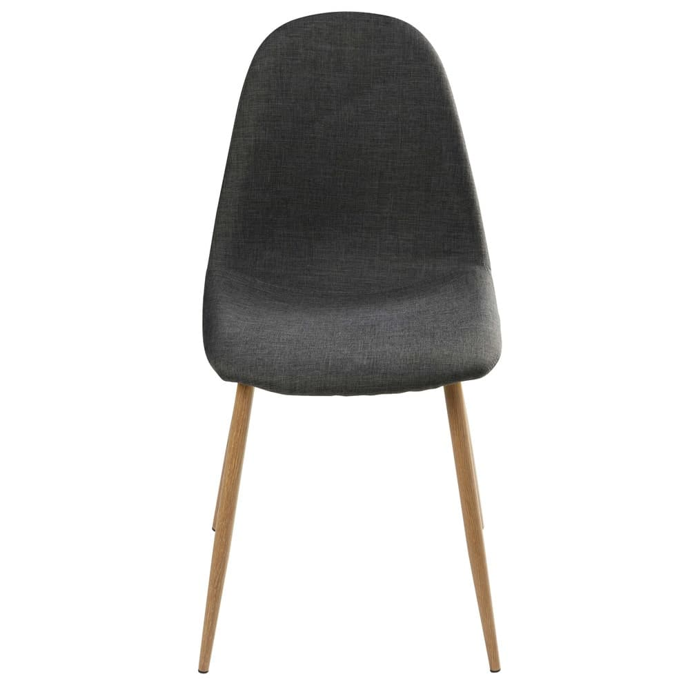 Chaise Style Scandinave Gris Anthracite Clyde