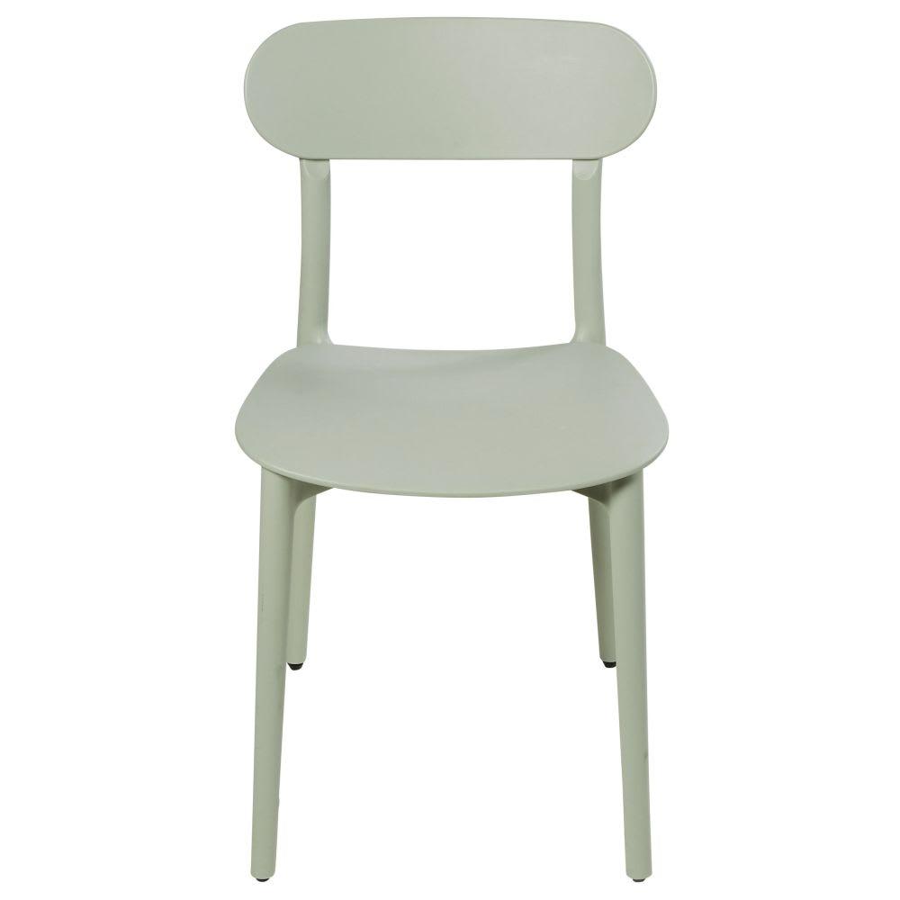 chaise vert d 39 eau eve maisons du monde. Black Bedroom Furniture Sets. Home Design Ideas