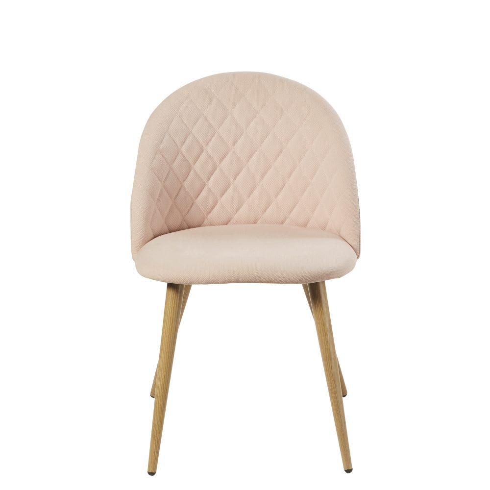 chaise vintage rose clair mauricette maisons du monde. Black Bedroom Furniture Sets. Home Design Ideas