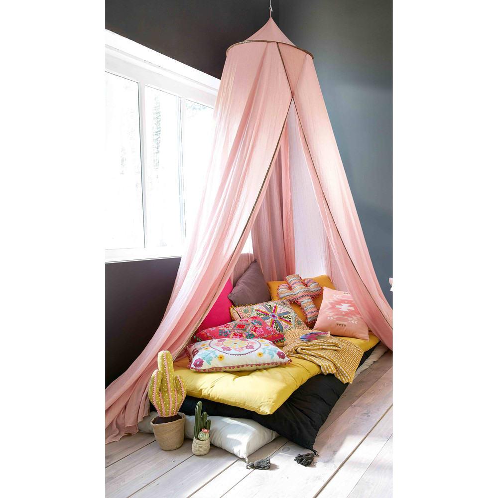 ciel de lit enfant rose lilly maisons du monde. Black Bedroom Furniture Sets. Home Design Ideas