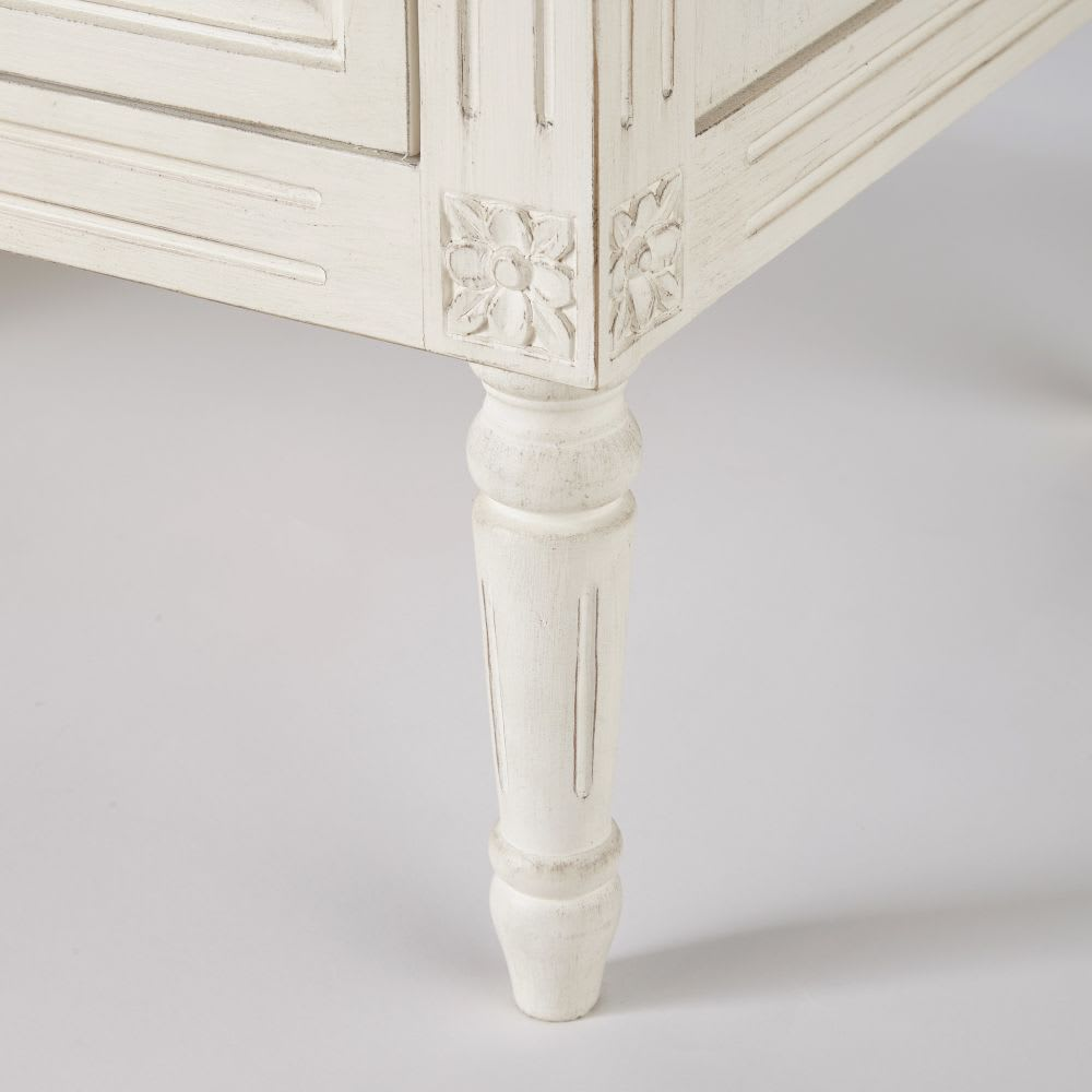commode 4 tiroirs ivoire camilla maisons du monde. Black Bedroom Furniture Sets. Home Design Ideas