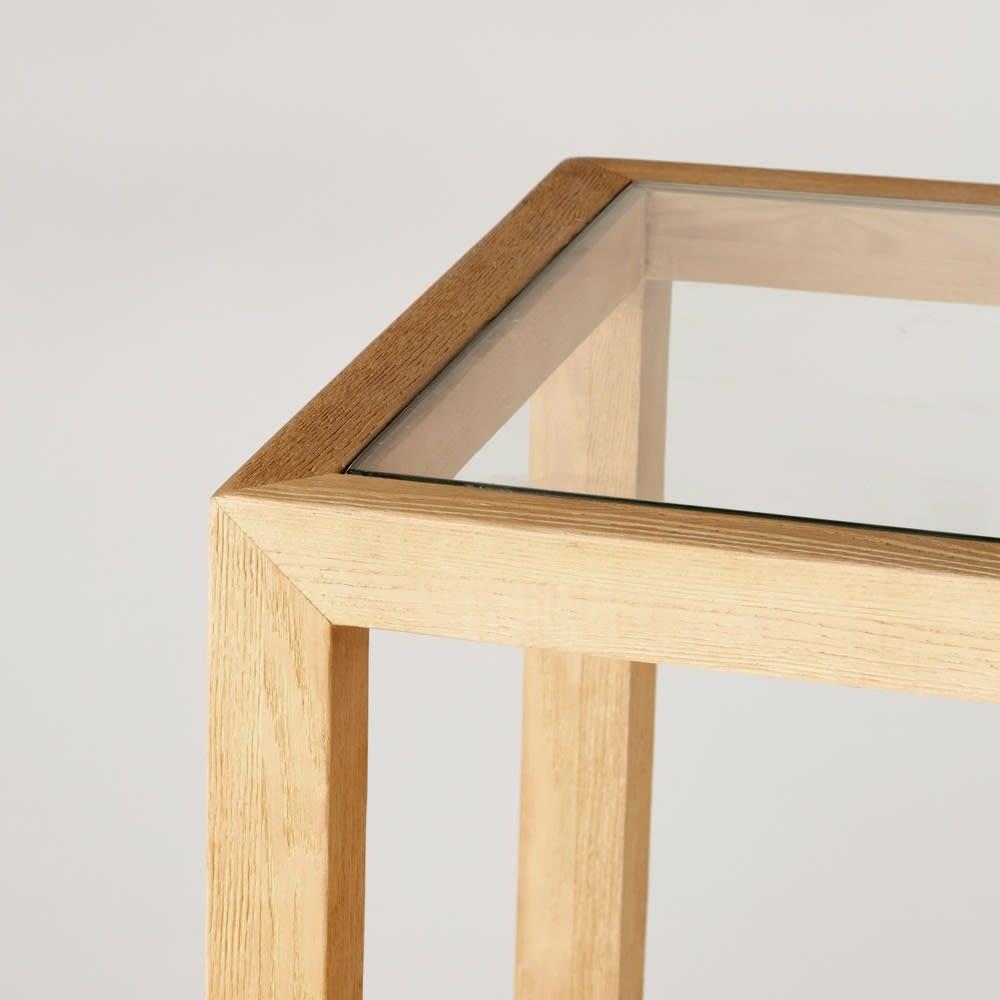 Consolle in legno massello di frassino e vetro temprato | Maisons du ...