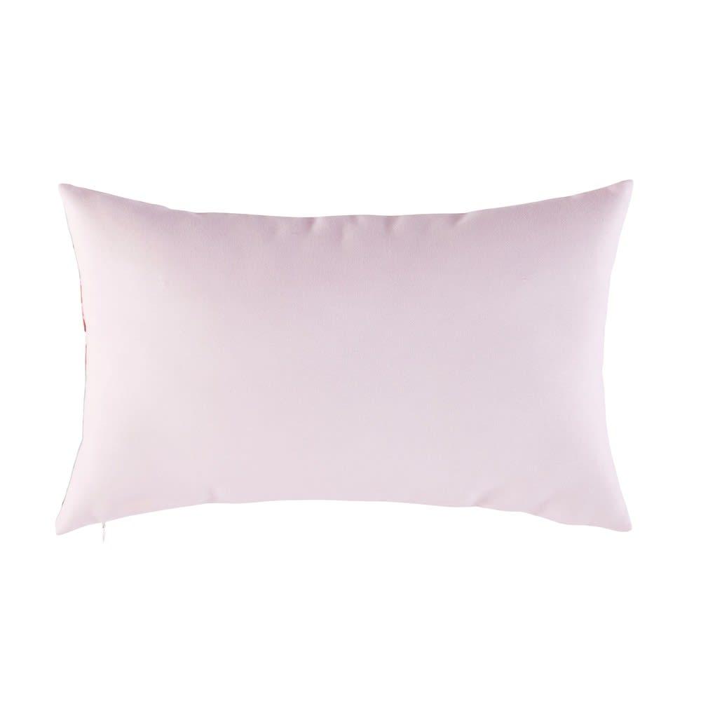 coussin d 39 ext rieur rose imprim cactus 30x50 feroca maisons du monde. Black Bedroom Furniture Sets. Home Design Ideas