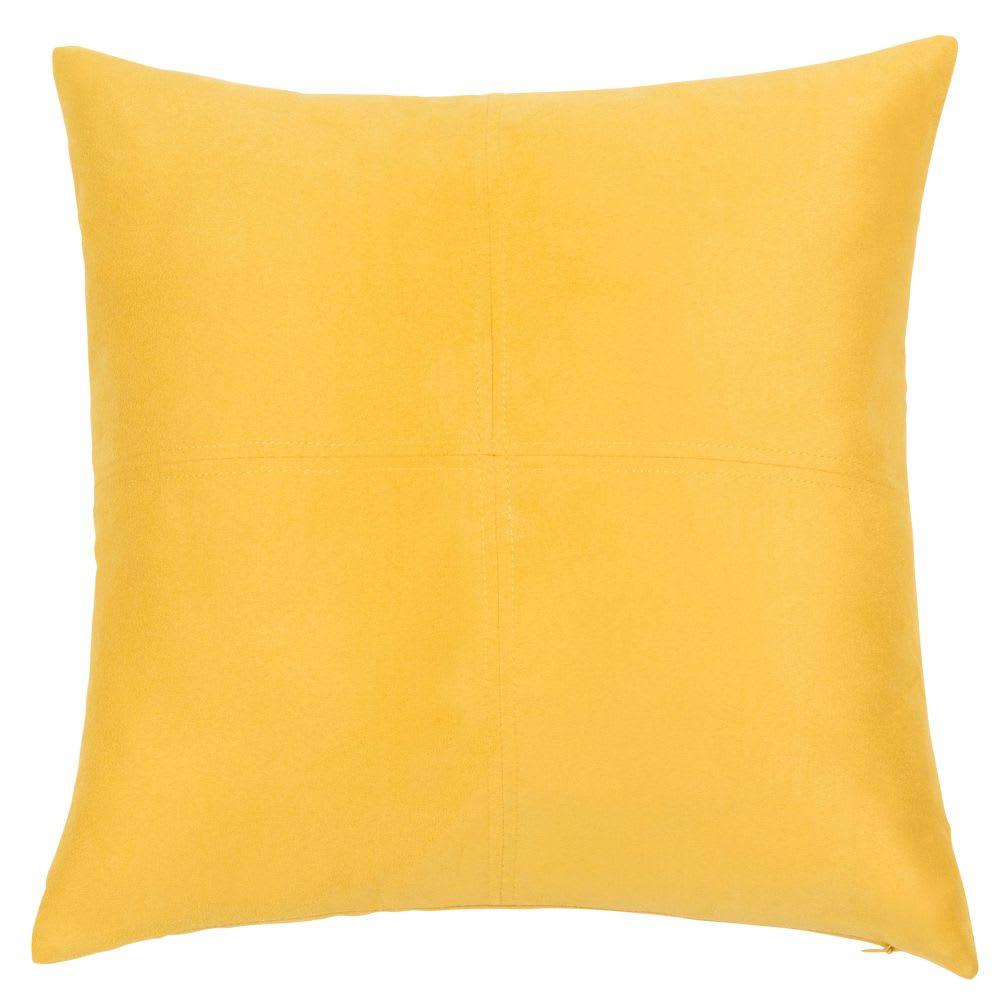 Coussin jaune citron 40 x 40 cm Swedine |