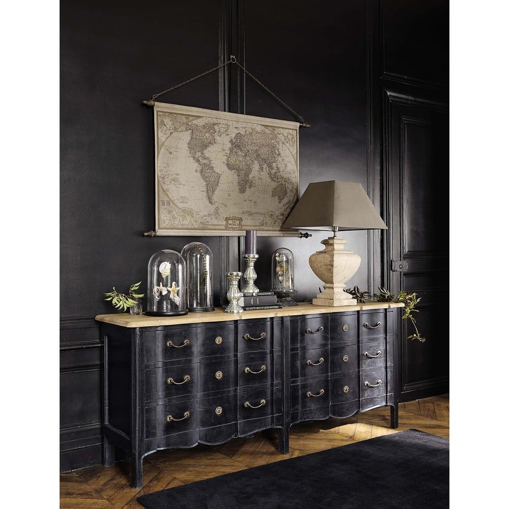 d co murale carte du monde 117x129 explorateur maisons. Black Bedroom Furniture Sets. Home Design Ideas