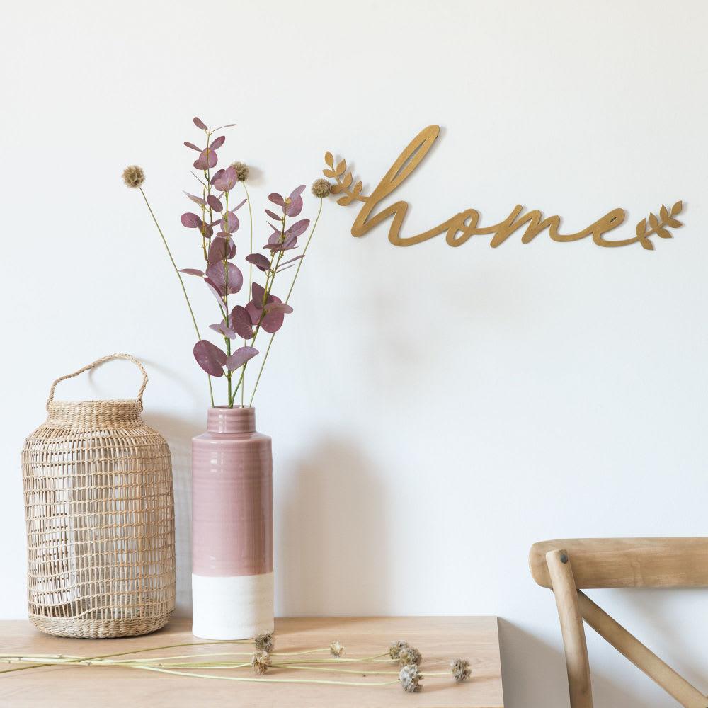 d co murale en m tal dor 50x17 home maisons du monde. Black Bedroom Furniture Sets. Home Design Ideas