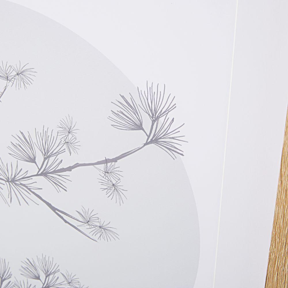Deco Murale Imprime Arbre En Fleurs 63x93 Osaka Maisons Du Monde