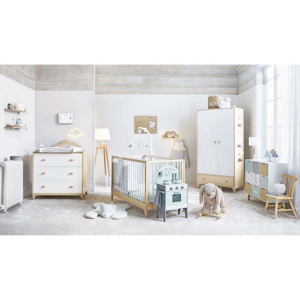 d co murale lumineuse nuage en m tal dor 30x15 dream. Black Bedroom Furniture Sets. Home Design Ideas