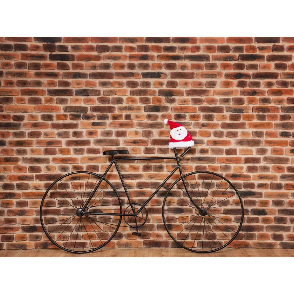 decoraci n de pared con bicicleta de metal negro cm. Black Bedroom Furniture Sets. Home Design Ideas
