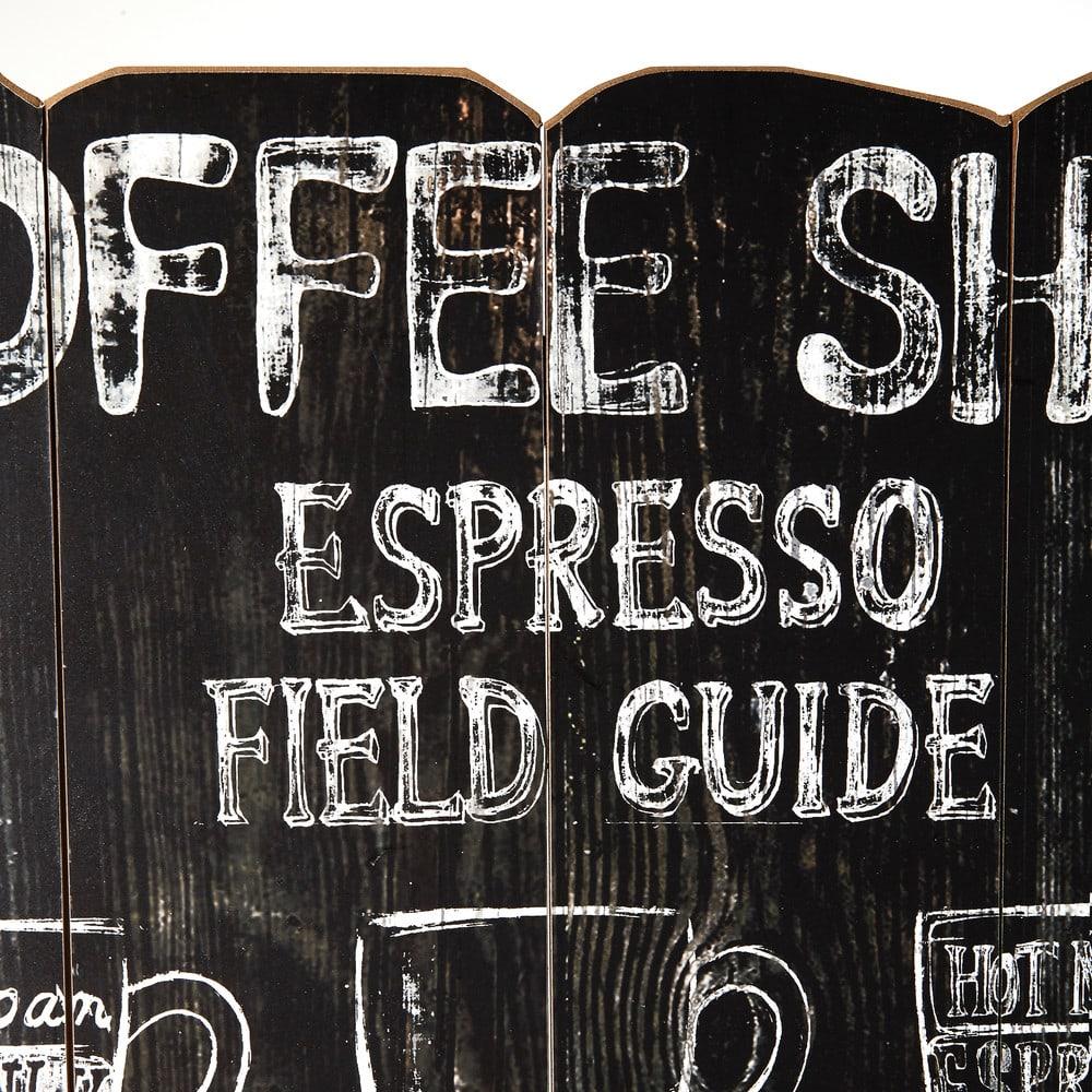 Decorazione da parete con stampe 59x96 cm coffee store for Stampe da parete