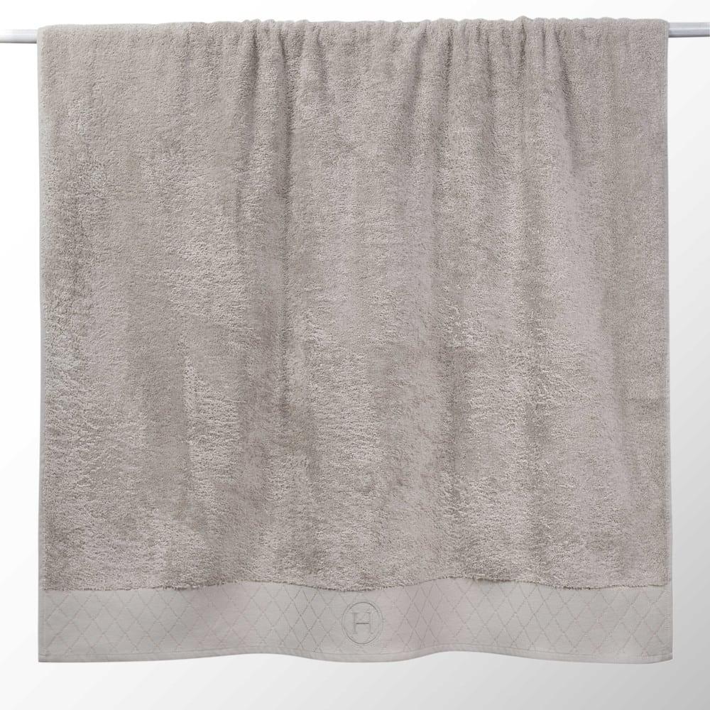 drap de bain en coton beige 100x150 hotes maisons du monde. Black Bedroom Furniture Sets. Home Design Ideas