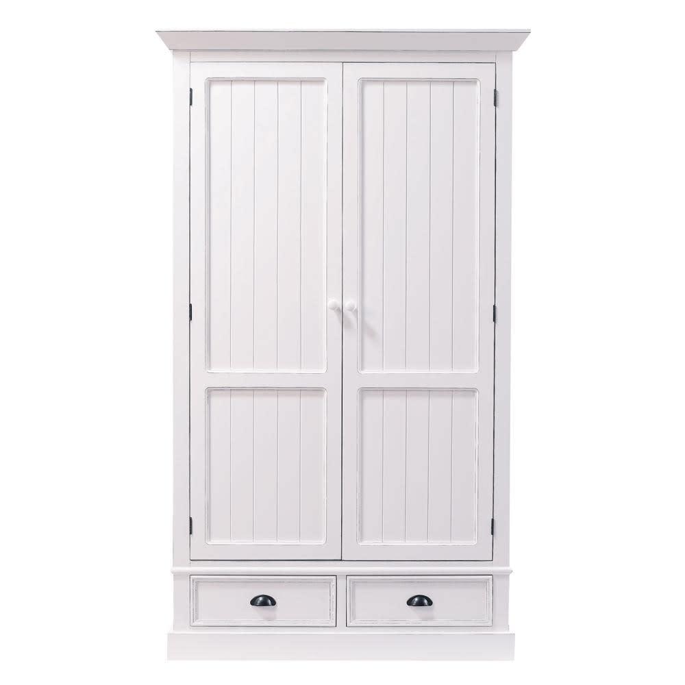 Dressing 2 tiroirs blanc Newport | Maisons du Monde