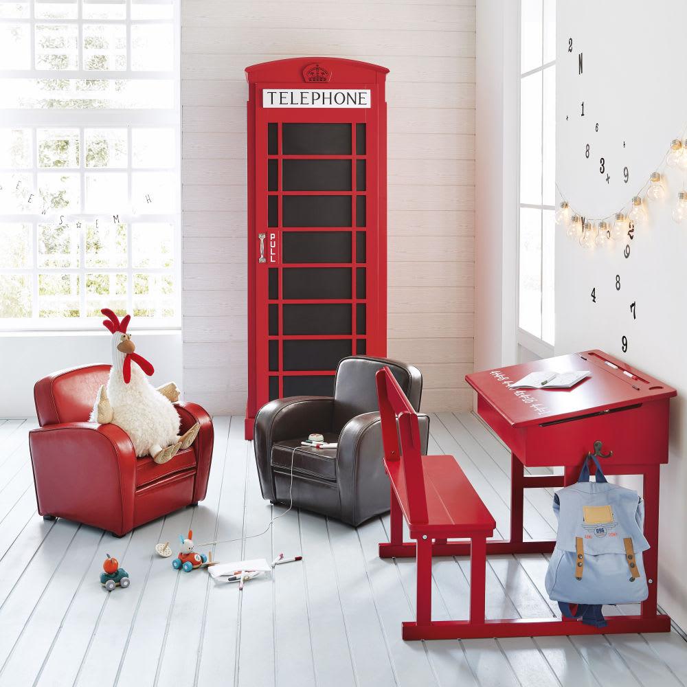 Beau Dressing Cabine Téléphonique Rouge Phonebox
