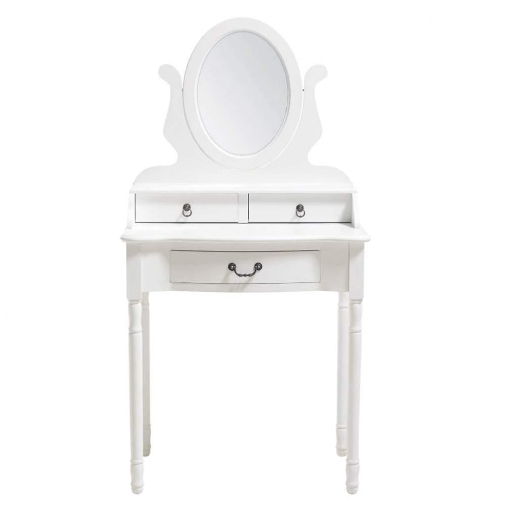 Dressing Table In White Josephine Maisons Du Monde