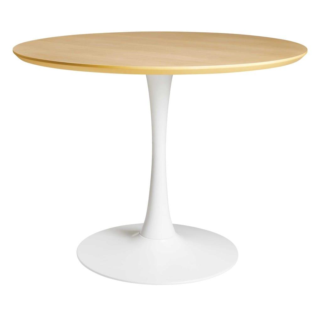 Eettafel 100 Cm.Eettafel D 100 Cm Circle Maisons Du Monde