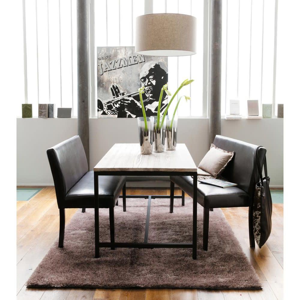esstisch im industrial stil f r 6 8 personen aus massivem. Black Bedroom Furniture Sets. Home Design Ideas