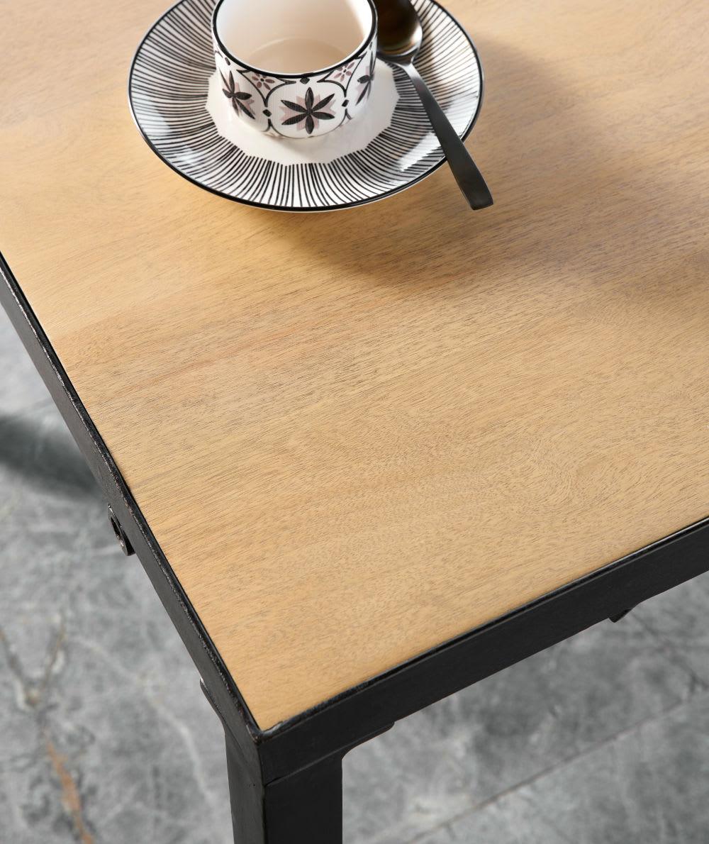 esstisch im industriestil f r 8 personen massives. Black Bedroom Furniture Sets. Home Design Ideas