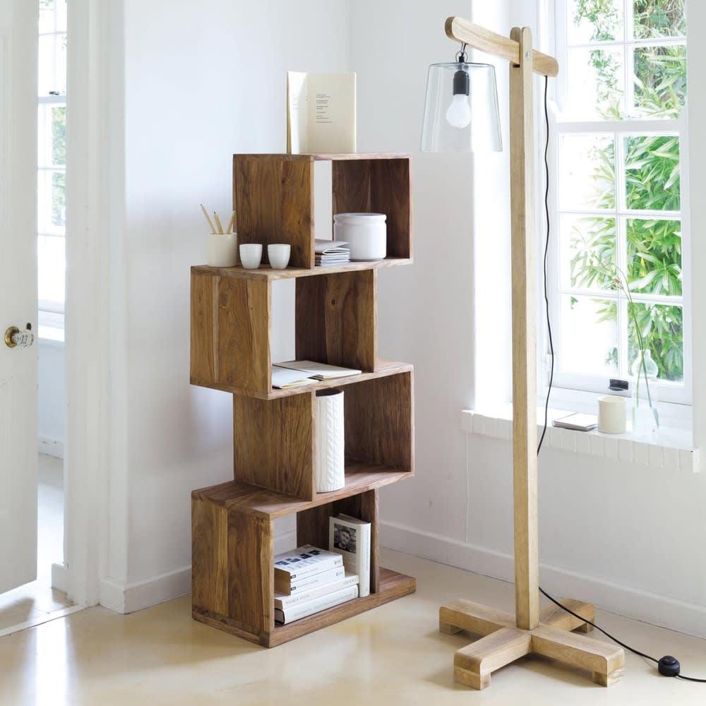 tag re 4 cases en sheesham massif stockholm maisons du monde. Black Bedroom Furniture Sets. Home Design Ideas
